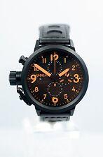 U-Boat Italo Fontana Flightdeck Chronograph U-7750/50 Automatic, Black PVD B/P