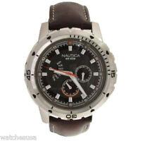 Nautica Multifunction NCS 350 Brown Dial Men's Watch N15611G