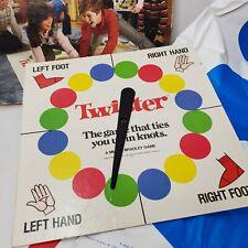Vintage 1986 Twister Board Game Milton Bradley 80s Party Decor Game Night USA