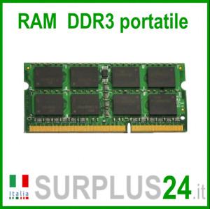 RAM 2GB DDR3 (1x 2GB) PC Portable PC3-8500S 1066Mhz Sodimm Ordinateur Pas Etc