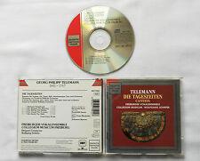 TELEMANN-SCHAFER/FREIBURG VOCAL Ens. Die Tageszeiten GERMANY CD ED1 DHM RD 77092