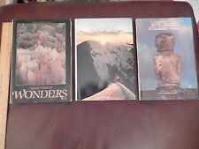Lot of 3 National Geographic Soc: Secret Corners,Natures Wonders & Ancient World