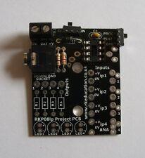 RKP08LP PCB de baja potencia para Picaxe - 08M2 y Genie-C08 Kit de construcción de uno mismo-Reino Unido Vendedor