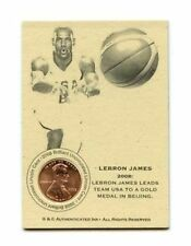 LeBron James Original Basketball Trading Cards