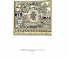 Keith Haring: Drawing- Humans/Dogs/Crosses- 1997 Bookplate Art Print