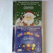 The Best Ever Educational & Christmas Songs & Stories Personalized CD, JAMIE