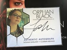 2017 Cryptozoic Orphan Black Season 2 Tatiana Maslany As Cosima Auto