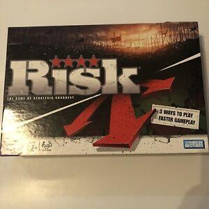 Risk The Game Of Strategic Conquest Boardgame