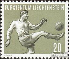 Liechtenstein 323 neuf avec gomme originale 1954 Sports