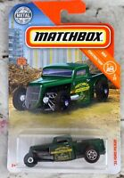"""2019 Matchbox #21/100, """" '35 FORD PICK UP"""" Construction Series 5/20 New Unopened"""