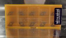 10 placas de inflexión dcmt 070202 ue6110 mitsubishi edición de acero nuevo embalaje original U.