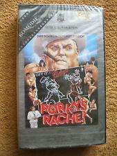 VHS Video Kassette Porkys Rache Das Schwein Schlägt Zurück! Dan Monahan Neu OVP