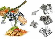 French Fry Fries cutter Heavy Duty TigerChef Complete Set Kitchen Cook Easy Food