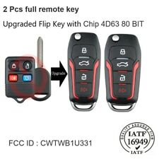 10pcs Remote Keyless Entry Key Fob for Ford Escape Mustang Explorer Lincoln 4btn