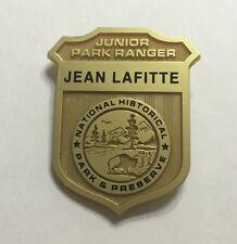 JR. PARK RANGER JEAN LAFITTE NATIONAL PRESERVE POLICE BADGE PIN NEW ORLEANS LA.