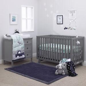 Child of Mine Cars 4 Piece Crib Bedding Set -Cat / Dog