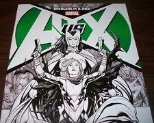 Avengers vs X-Men #0 6th Print Variant Sketch Cover Oct. 2012 in VF condition DM