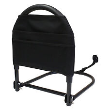 Portable Folding Bed Rail Safety Assist Cushioned Support Handle Travel Pouch