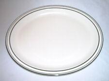 "BUFFALO POTTERY~Early Model Oval STEAK PLATE/PLATTER (13.5"") Pattern 9703c~USA"