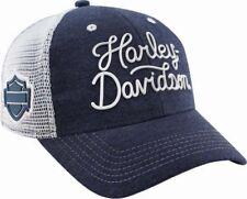 "Rick's Harley-Davidson Baseballcap ""H-D SCRIPT"" verstellbar *BC28685*"