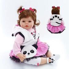 """19"""" Lifelike Newborn poupées réalistes Silicone Vinyle bébé reborn fille poupée"""