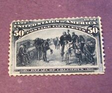 US Stamp Scott# 240 Recall of Columbus  1893 MH  C249
