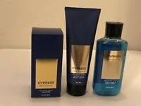 Bath & Body Works CYPRESS Cologne Body Cream Body Wash Pick 1 NEW