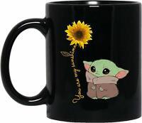 Cute Baby Yoda You Are My Sunshine Funny Gift Valentine Gift Coffee Mug
