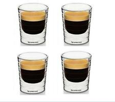 4pcs/Lot Espresso Double Layer Coffee Tea Glass Cup Shot Glass Mug Drink Bar Cup