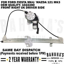 WINDOW REGULATOR-  FOR FORD FIESTA MK4/ MAZDA 121 MK3 1995-2003 FRONT RIGHT SIDE