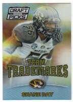 2015 Prizm Collegiate Draft Picks Team Trademarks Refractor #40 Shane Ray
