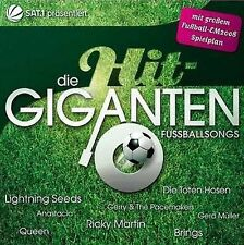 HitGiganten - Fussball songs - 2 CDs NEU Queen Brings Village People Bellini