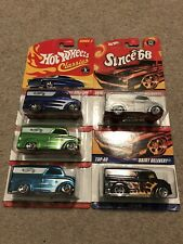 Hot Wheels Dairy Deliver Classics Since 68 Lot of Five