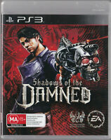 LIKE NEW SHADOWS OF THE DAMNED  WITH MANUAL PS3 Playstation 3 Game
