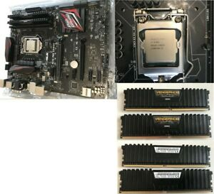 Kit Upgrade PC I7 6700K - Asus H170 Pro Gaming - 16Go DDR4