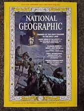 National Geographic Magazine December 1963 With Map of Holy Land Today, YWCA