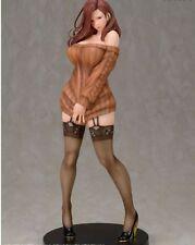 Daiki Kogyo Oda Non Illustration Shiho Kujo Brown Sweater 1/6 PVC Figure japan