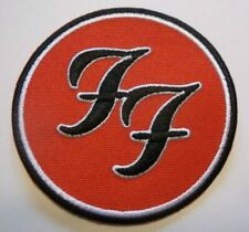 "Foo Fighters~Dave Grohl~Embroidered Patch~3"" Round~Alt Rock~Ships FREE"