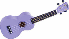 Mahalo Soprano Ukulele Purple Free case Fitted With Aquila Strings