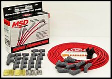 MSD SUPER CONDUCTOR UNIVERSAL WIRES RED, 90° BOOTS. # MSD-31239