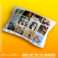 Personalised Photo Pillowcase Cushion Pillow Case Cover Custom Gift 10 pics