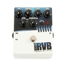 TECH 21 BOOST RVB analogique Reverb Guitar FX Pédale