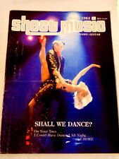 Sheet Music Magazine Shall We Dance? Easy Piano-Guitar Back Issue