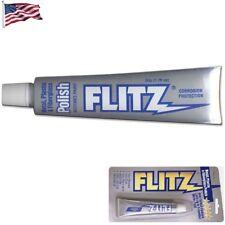 Flitz Polishing Paste Cleans Polishes & Protects Metal Plastic BP03511 1.76 oz.