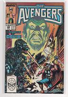 AVENGERS #295 John Buscema Captain Marvel Black Knight She-Hulk Thor 9.2