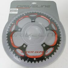 mr-ride DRIVELINE Chainring 56T BCD 130MM BK/Red for Folding Bike BIRDY DAHON