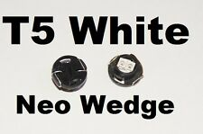 2 X White T5 Neo Wedge LED 79607-SHJ-S01 Twist lock Cluster Switch Dash Gauge
