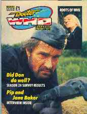 Doctor Who Magazine No.137 PIP AND JANE BAKER INTERVIEW
