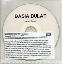 (AB98) Basia Bulat, Gold Rush - DJ CD