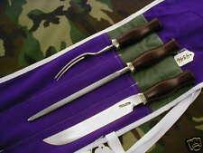 RANDALL KNIFE KNIVES 3 PIECE CARVING SET AL./BL.S, MM   #4346